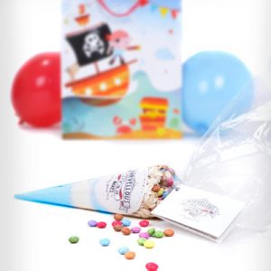 Personalised party bags - blue